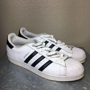 Adidas Original Men's 13 Superstar Shell Toe